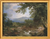 Monument Mountain Posters af Asher Brown Durand