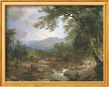 Monument Mountrains Poster af Asher Brown Durand