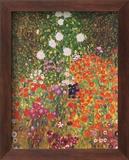 Garten in Blüte Kunstdruck von Gustav Klimt