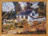 Casas de Auvers Láminas por Vincent van Gogh