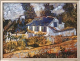 Vincent van Gogh - House at Auvers - Poster