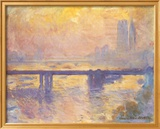 Charing Cross Bridge, c.1905 Kunstdrucke von Claude Monet