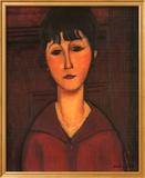 Amedeo Modigliani - Portrait of Young Woman, c.1916 Obrazy