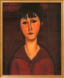 Portrait of Young Woman, c.1916 Kunstdrucke von Amedeo Modigliani