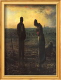 The Evening Prayer (L'Angélus), c.1859 Poster von Jean-François Millet