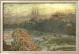 The Tuileries Poster von Claude Monet
