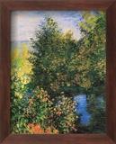 Corner of the Garden at Montgeron Affiches par Claude Monet
