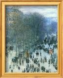 Boulevard des Capucines Plakater af Claude Monet