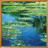 Water Lillies Kunstdruck von Claude Monet