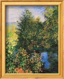 Claude Monet - Corner of the Garden at Montgeron - Poster