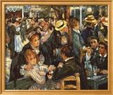 Le Moulin de la Galette Kunstdrucke von Pierre-Auguste Renoir