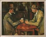 The Card Players Kunst von Paul Cézanne