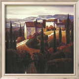 Farmhouse near Prato Prints by Max Hayslette