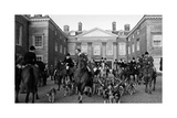 Country House Meet Premium Giclee Print by  The Chelsea Collection