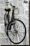 Bike Stretched Canvas Print by Loui Jover