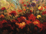 Autumn Florals Giclee Print by Kanayo Ede