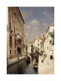 Venice Premium Giclee Print by Rubens Santoro