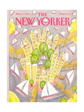 The New Yorker Cover - May 2, 1988 Premium Giclee Print by Bob Knox