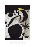 Femme et Oiseaux Dans la Nuit, 1969 - 1974 Posters by Joan Miro