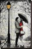 Lamp Stretched Canvas Print by Loui Jover