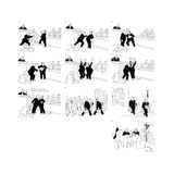 New Yorker Cartoon Premium Giclee Print by Carl Rose