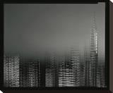 Chrysler Building Motion Landscape 2 Stretched Canvas Print by Len Prince