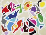 Colour Manifestation Impressão giclée por Randy Engelberg