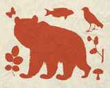 Woodland Creatures III Posters by Clara Wells