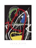 Femme, Oiseaux, 1976 Giclee Print by Joan Miro