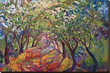 The Path Stretched Canvas Print by Erin Hanson