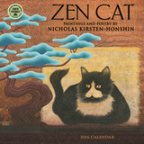 Zen Cat - 2016 Mini Calendar Calendars