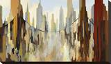 Transbay Stretched Canvas Print by Gregory Lang