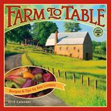 Farm to Table - 2016 Calendar Calendars