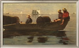 Three Boys in a Dory Posters by Winslow Homer