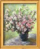 Vase of Flowers (Mini) Print by Claude Monet