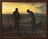 The Evening Prayer (L'Angélus), c.1859 Prints by Jean-François Millet