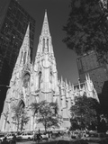 St. Patricks Cathederal, NYC Daytime 1 - New York City Landmark Midtown Manhattan Wall Decal by Henri Silberman