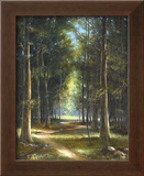 Forrest Interiors Print by James Sulkowski