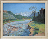 Valley of the Ourika Prints by Sir Winston Churchill