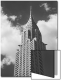 Chrysler Building, New York City, View from Street Print by Henri Silberman