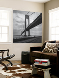 Verrazano Bridge, New York City Afernoon Wall Mural by Henri Silberman
