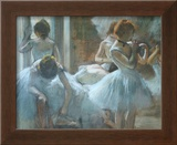 Dancers at Rest Posters by Edgar Degas
