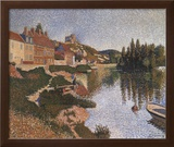 Riverbank Prints by Paul Signac