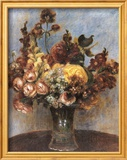 Spring Bouquet Print by Pierre-Auguste Renoir