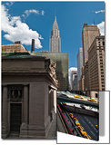 Grand Central Station Exterior, Side with Chrysler Building, New York City (East Down 42nd Street) Prints by Henri Silberman