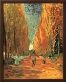 Allee des Alycamps Poster by Vincent van Gogh
