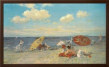 At The Seaside Prints by William Merritt Chase