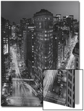 Flatiron Building, New York City at Night 3 Prints by Henri Silberman