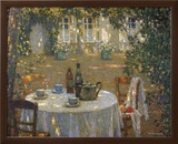 Table in the Sun Art by Henri Le Sidaner