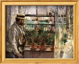 Eugene Manet Posters by Berthe Morisot